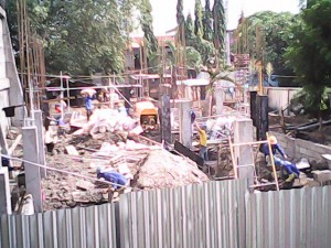Initial Clinic Construction - Santa Niño